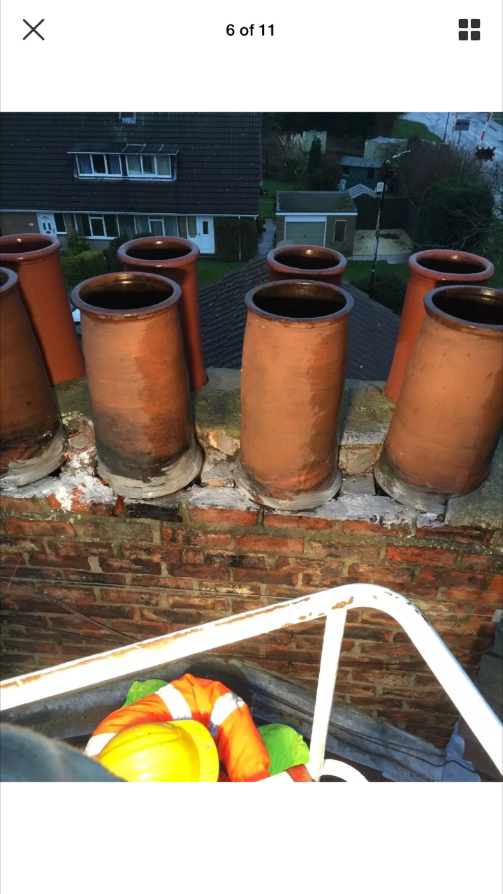 Typical Chimney Stack Tops